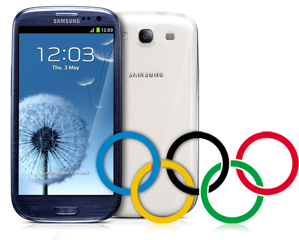 Galaxy S III Owners Can Free Follow the 2012 Olympics from Your Phone