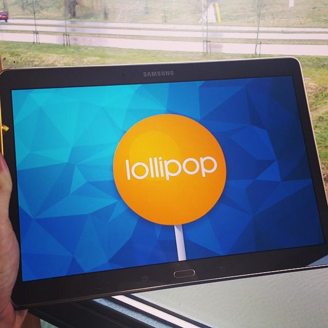 Galaxy Tab S 10.5 Lollipop 5.0.1