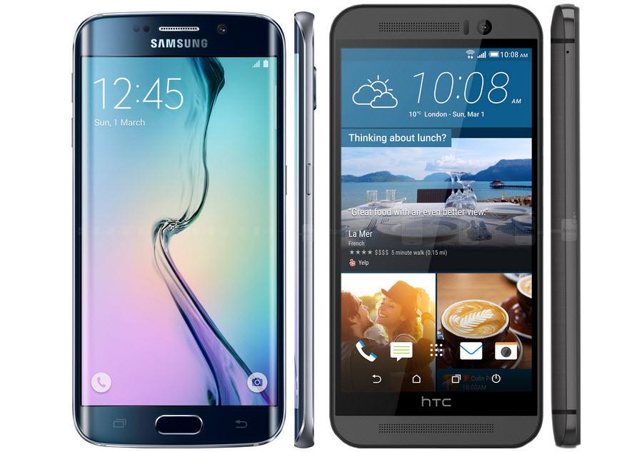 Galaxy S6 Edge vs. HTC M9