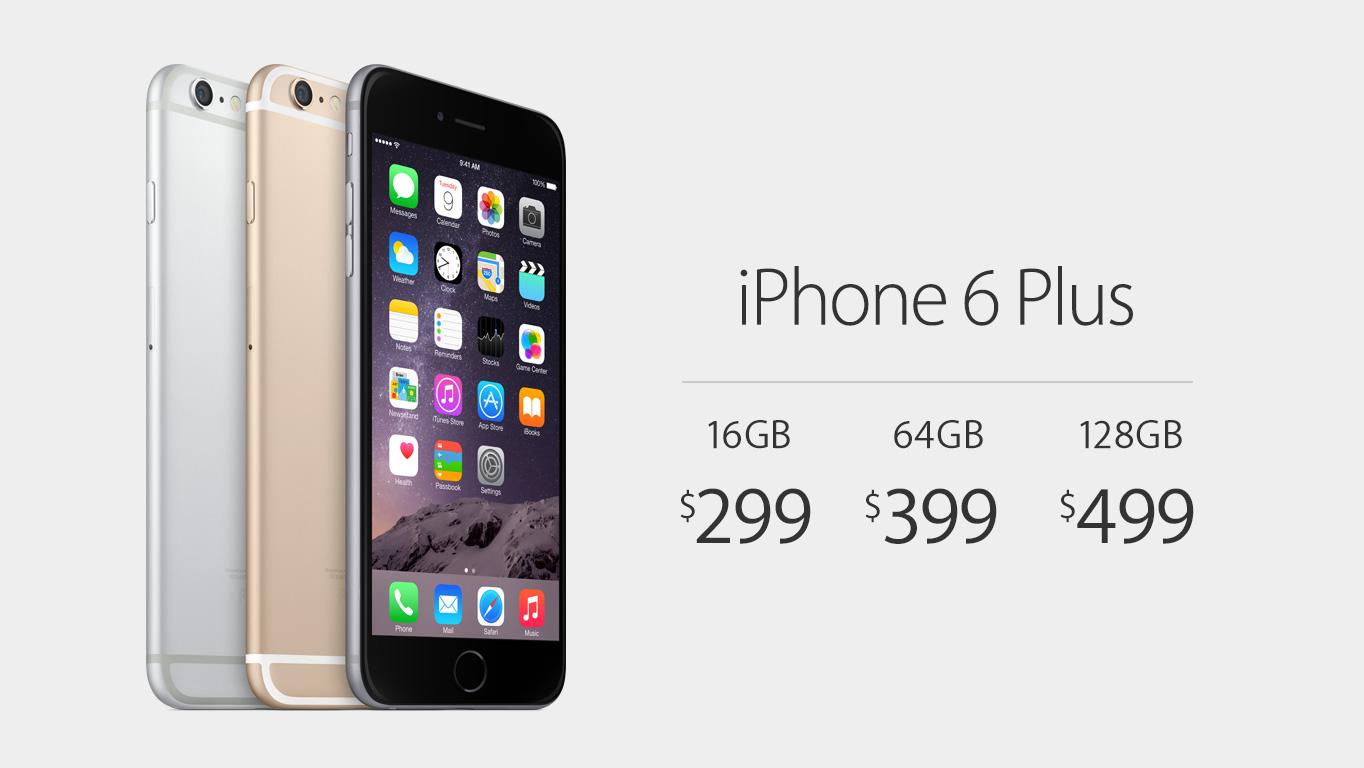 iphone 6 plus prices