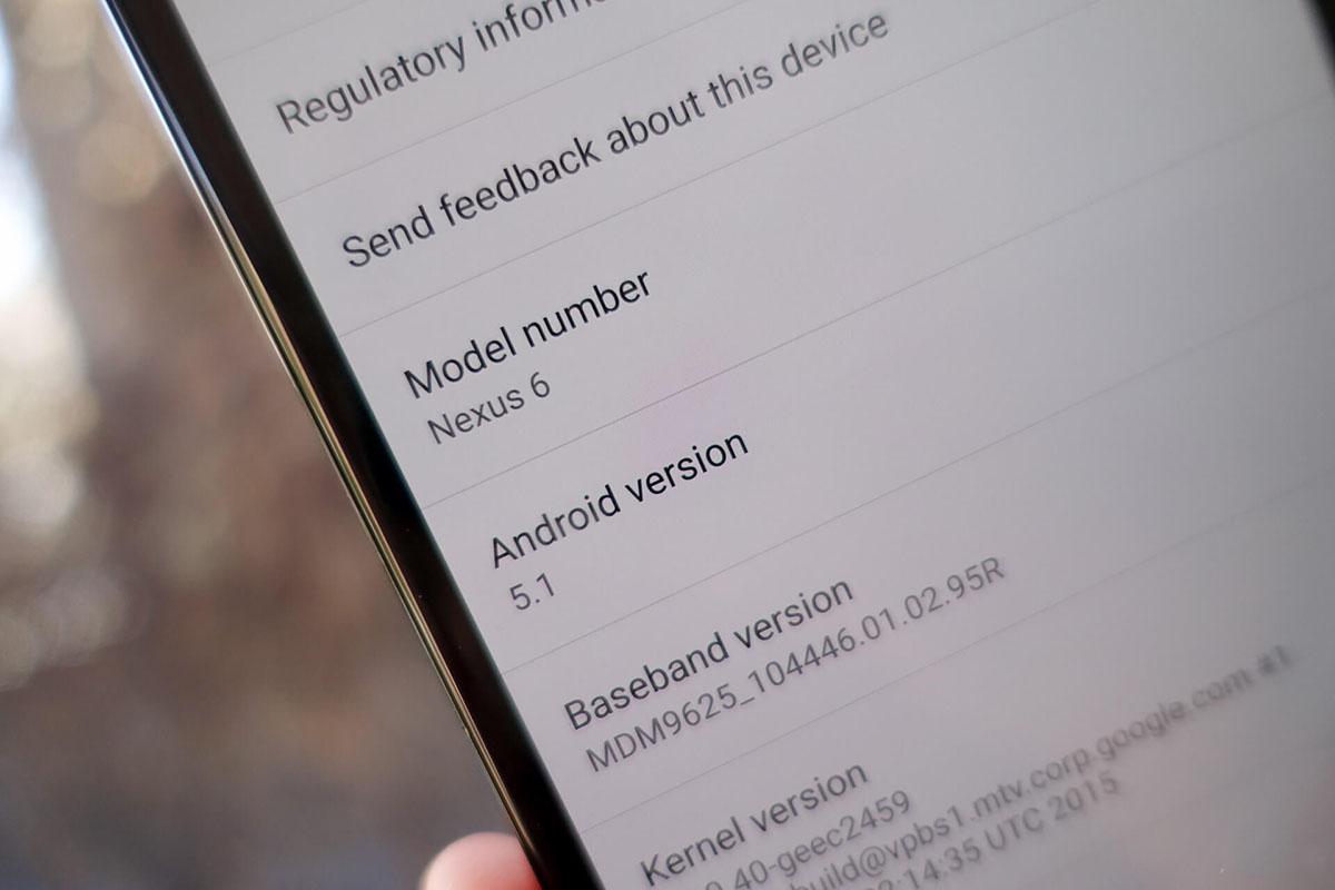 Nexus 6 5.1.1