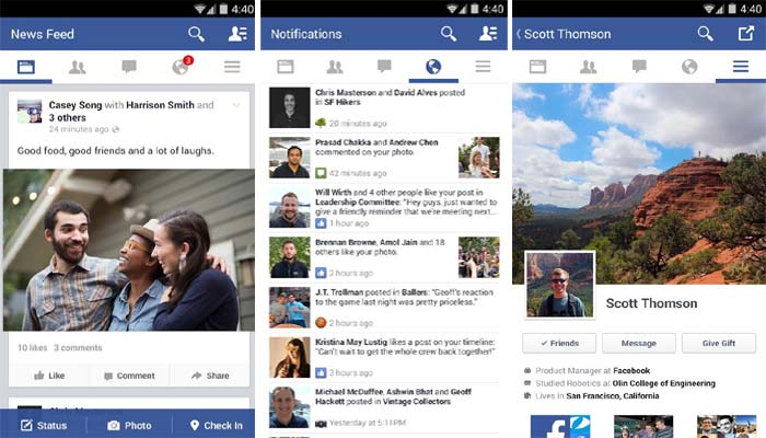 Try The New Facebook For Android Version 12 Alpha Apk Download