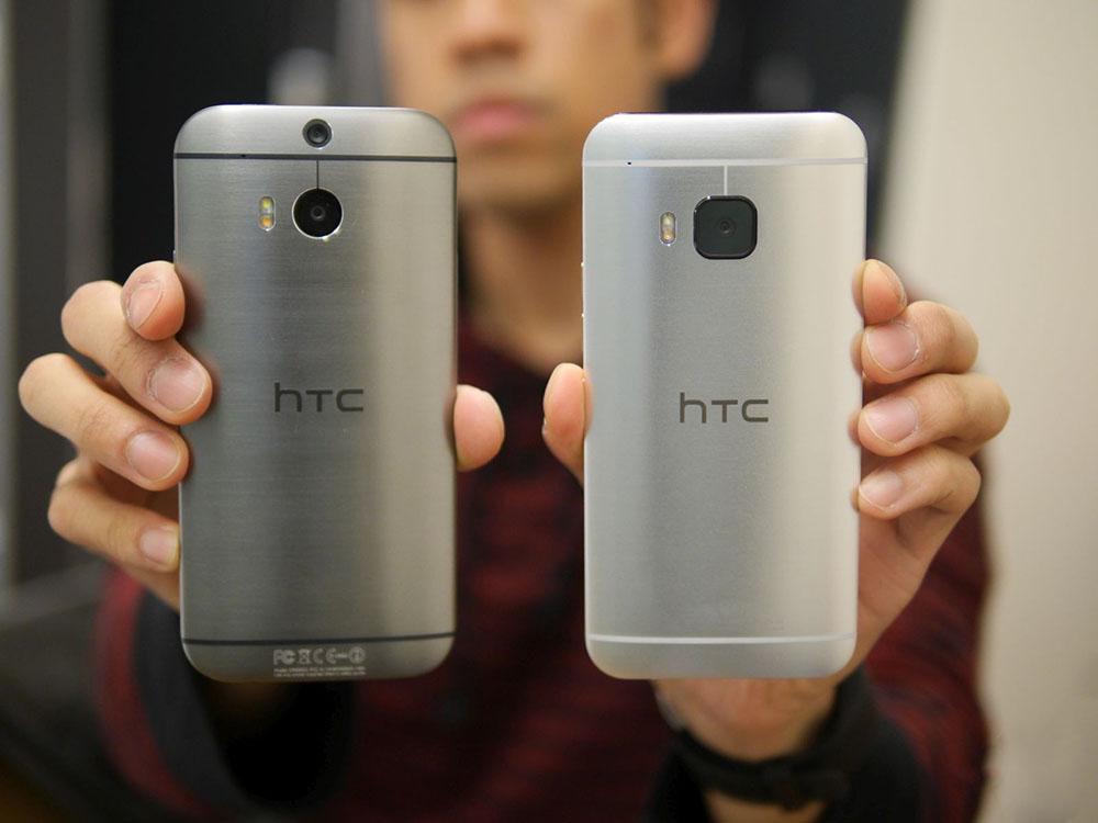 HTC One M8 vs HTC One M9