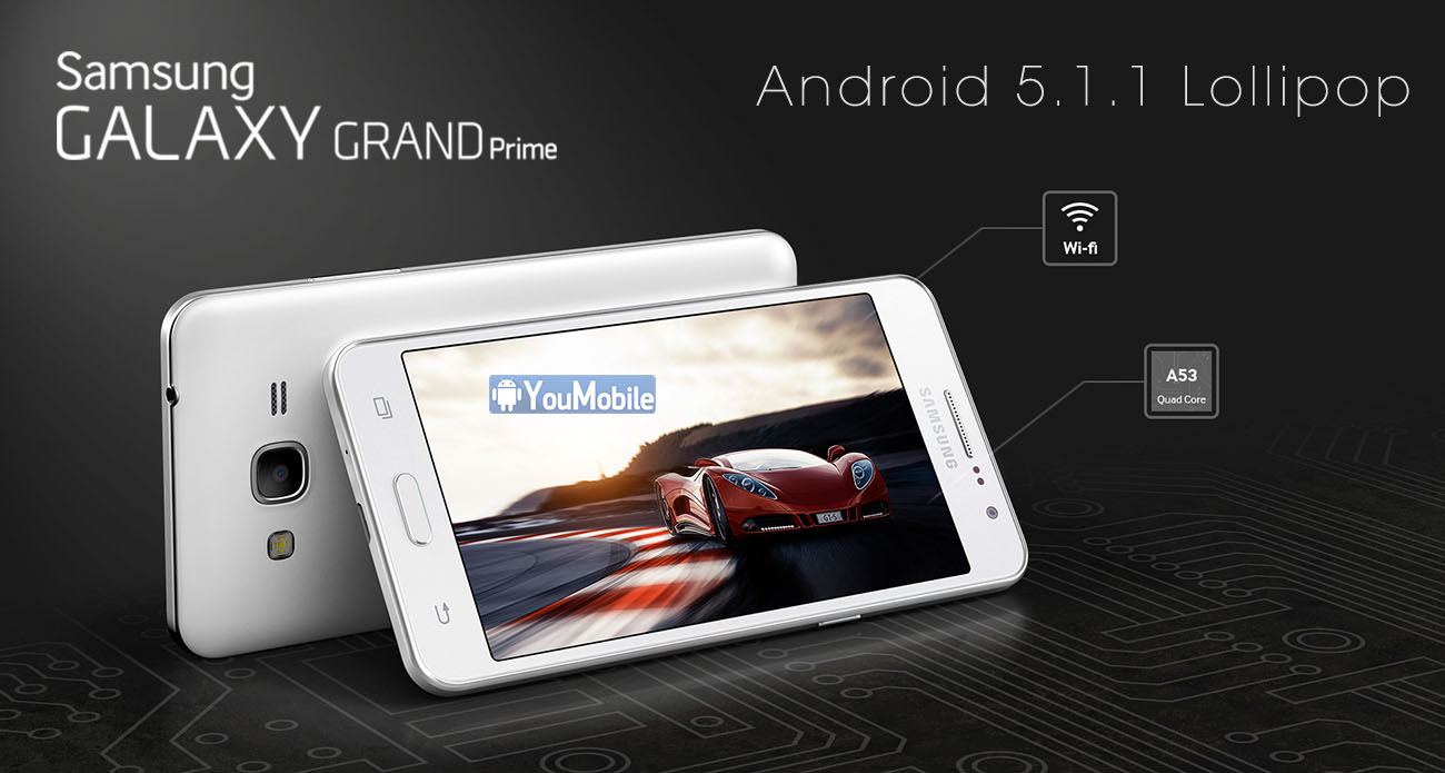 Grand Prime 5.1.1 lollipop