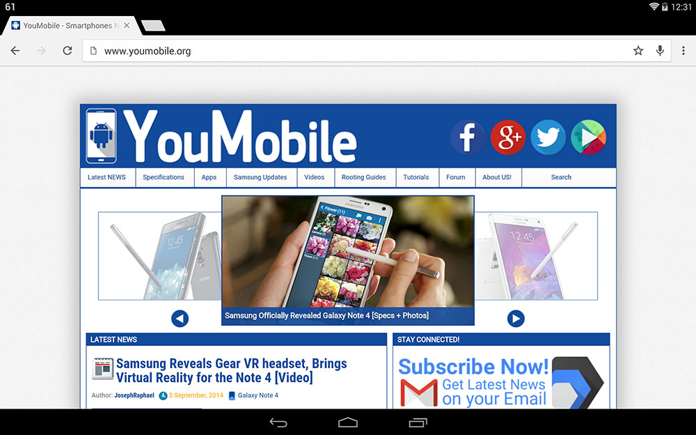 youmobile chrome 37