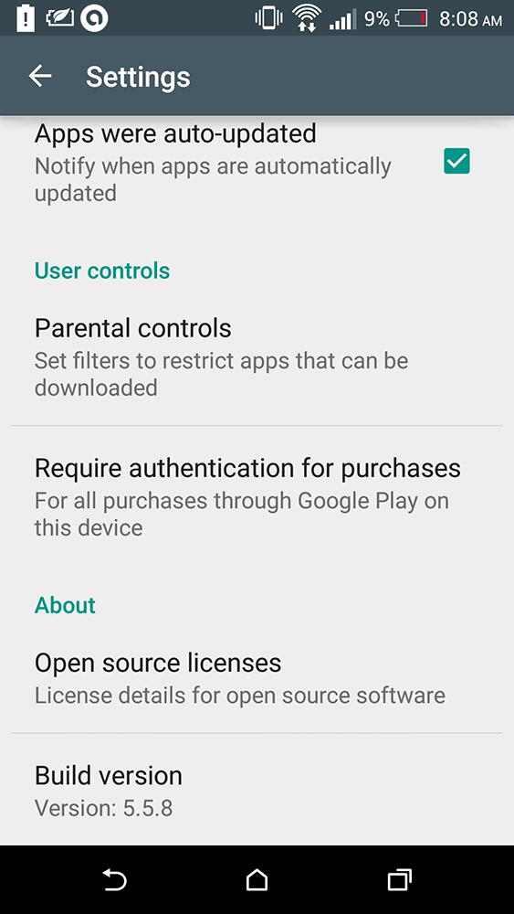 play store 5.5