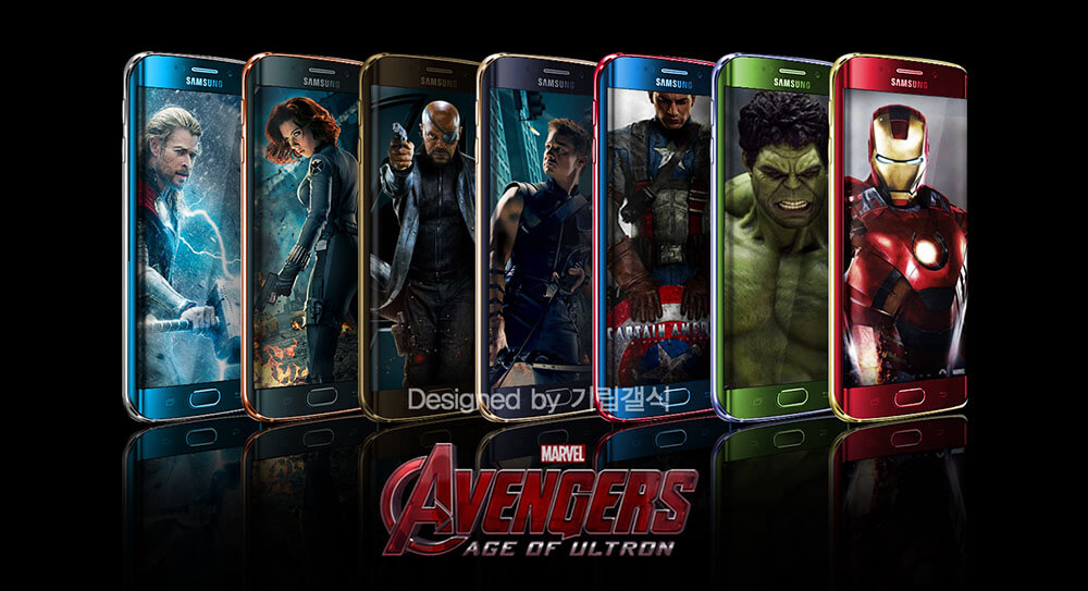 s6 edge avengers