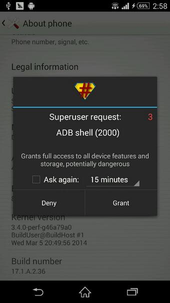 Z2 SuperSU Root