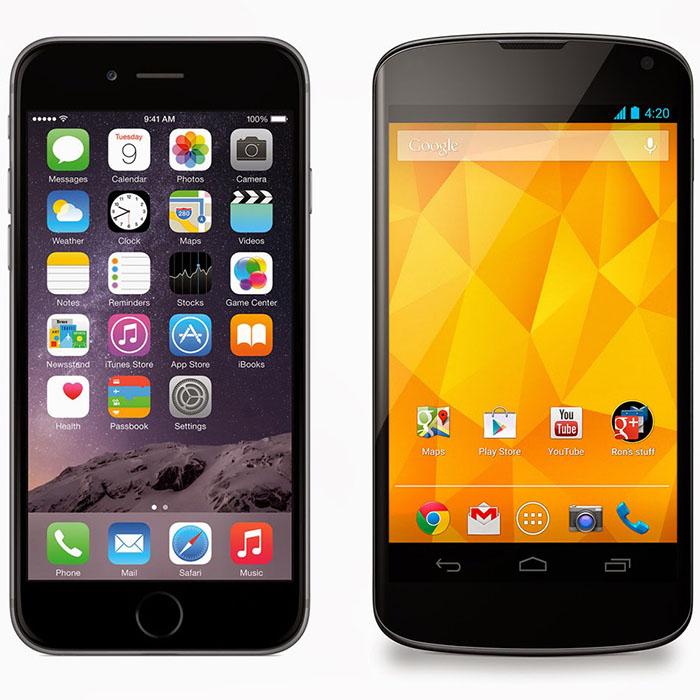 Nexus 4 iphone 6