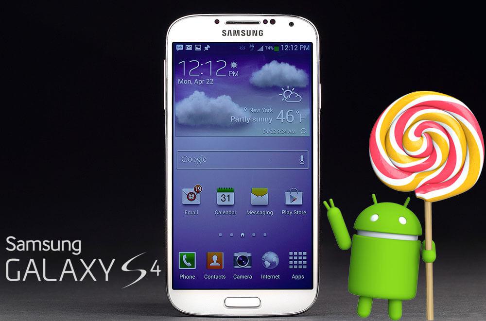 Galaxy S4 AT&T lollipop