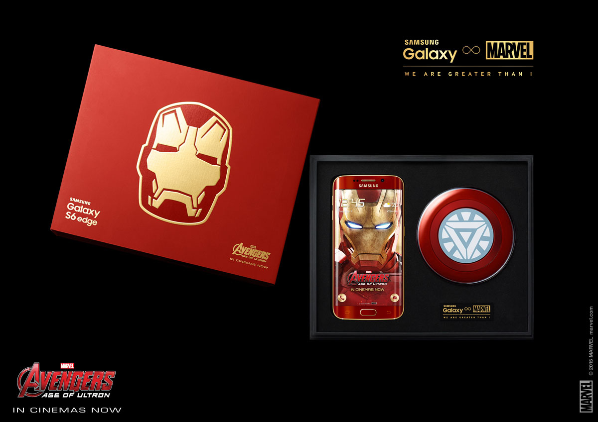 galaxy s6 iron man edition