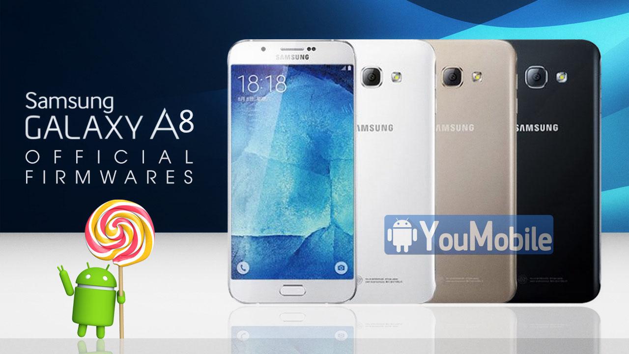Galaxy A8 firmware