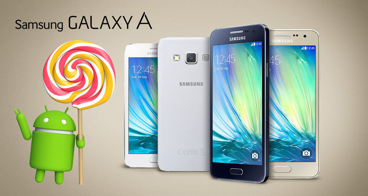 Galaxy A family Lollipop