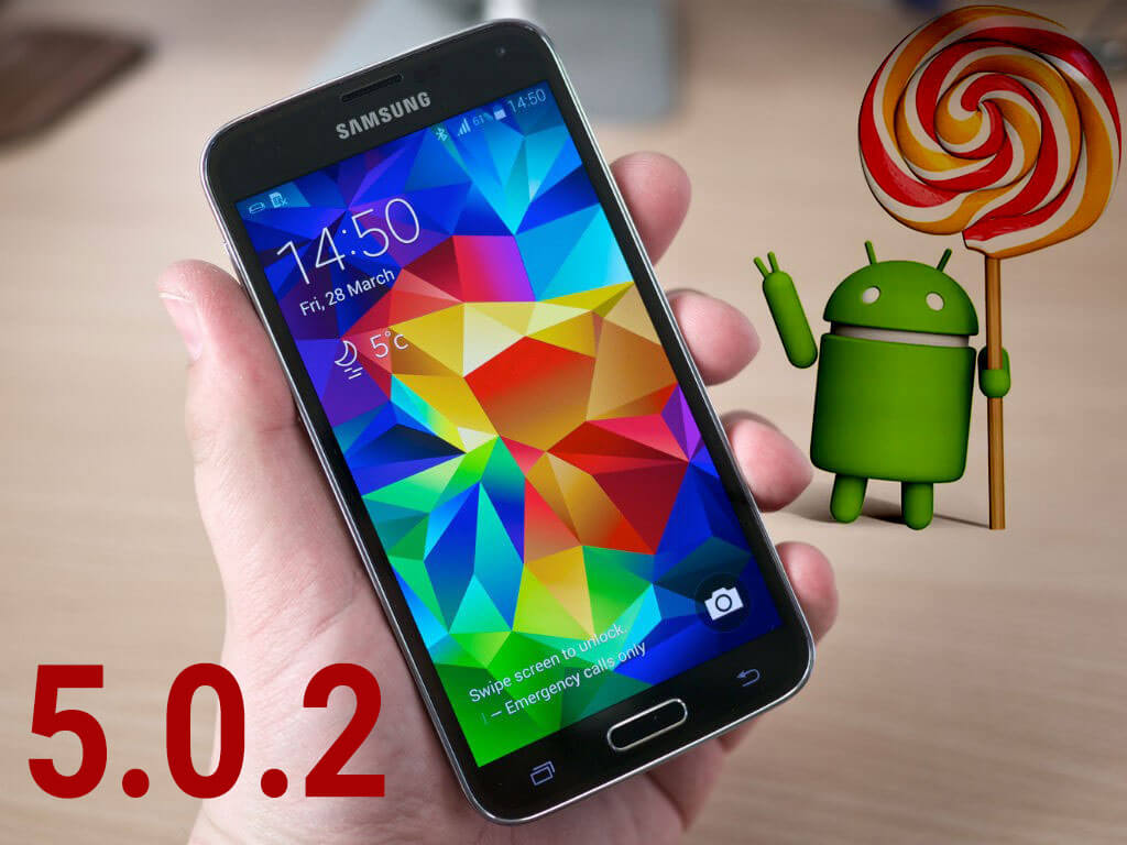 Galaxy S5 Lollipop 5.0.2