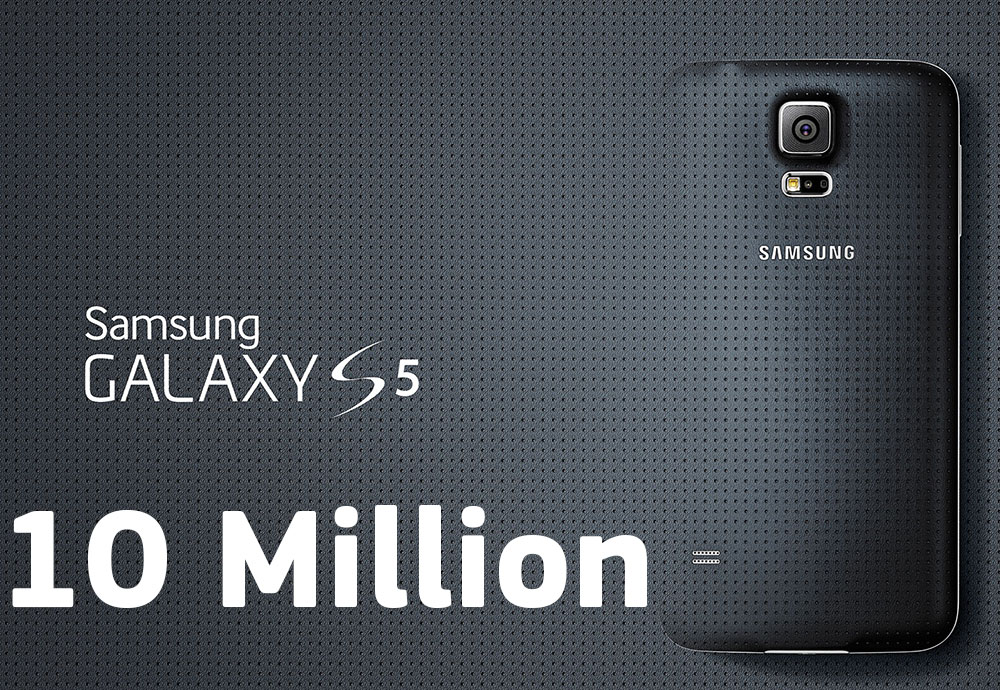 Galaxy S5 10 Million