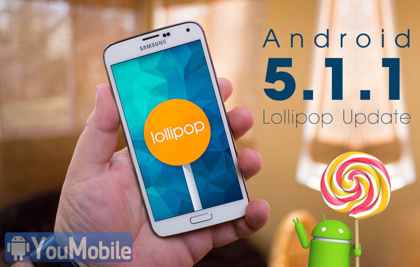 Galaxy S5 Lollipop 5.1.1