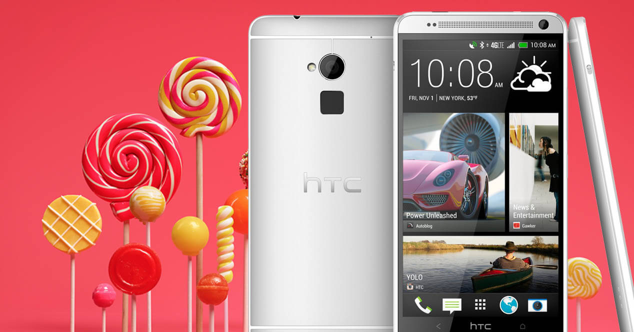 htc one max lollipop