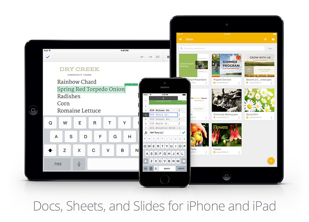 Google slides iOS