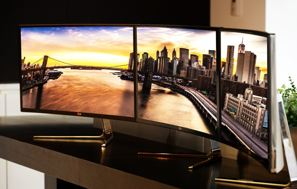 LG IPS 21:9 Curved TV
