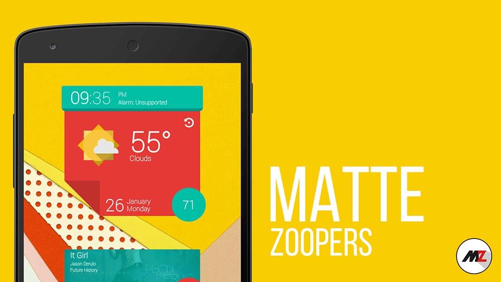 matte zooper