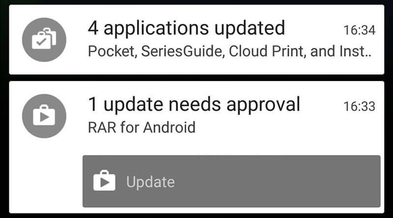 update all