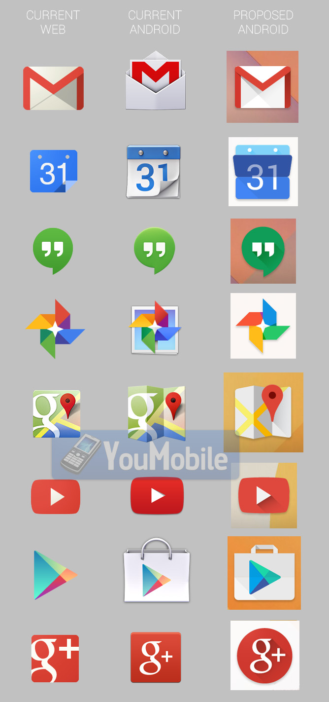 Google Apps Icons