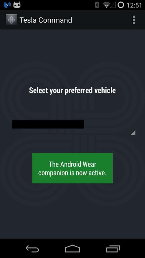 Tesla commands