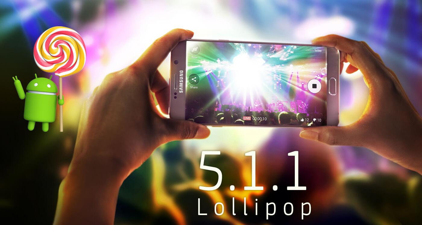 Galaxy Note5 lollipop