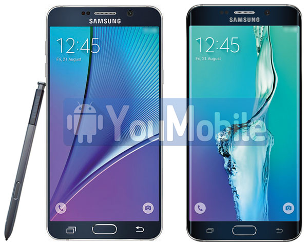 Galaxy note 5 and galax S6 edge+