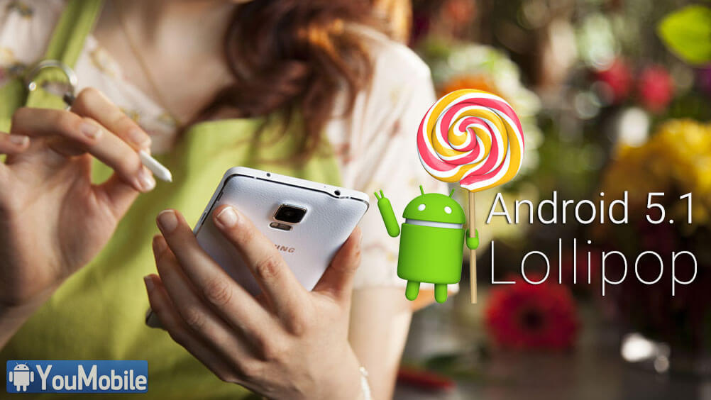 note 4 Lollipop 5.1