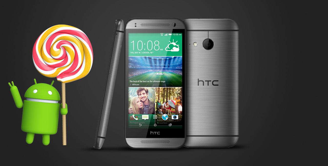 HTC One mini 2 lollipop