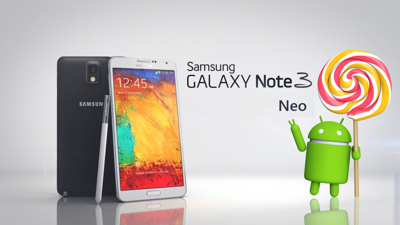 Note 3 Neo 5.0.1 lollipop update