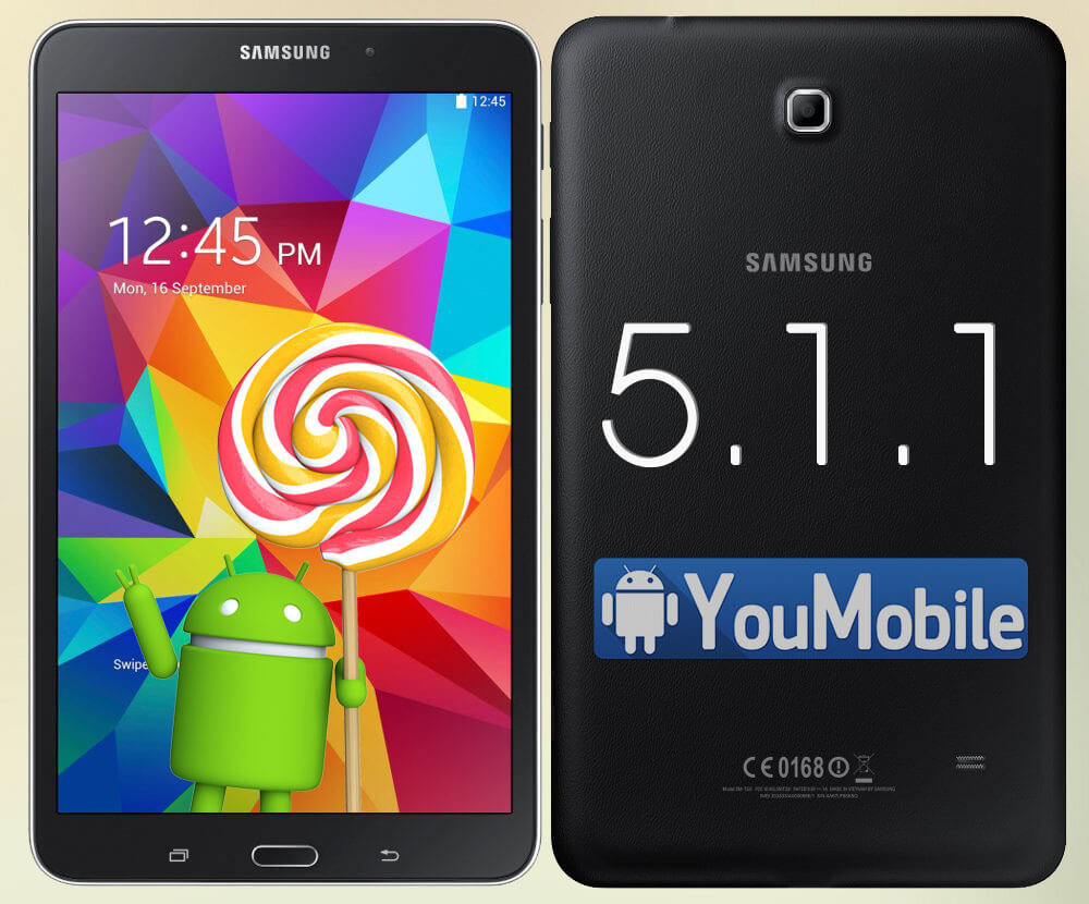 Galaxy Tab 4 8.0 Lollipop