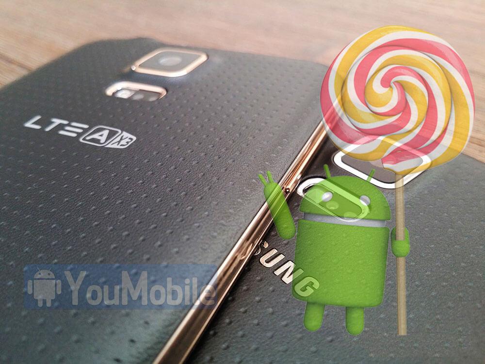 S5 LTE-A lollipop