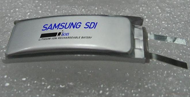 Samsung SDI Curved battery