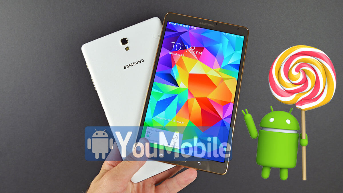 TAb S 8.4 LTE lollipop 5.0.2 update rolling-out