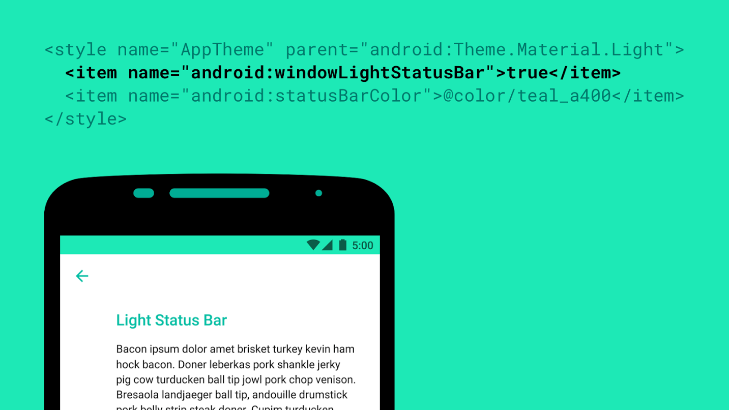 Android M themes