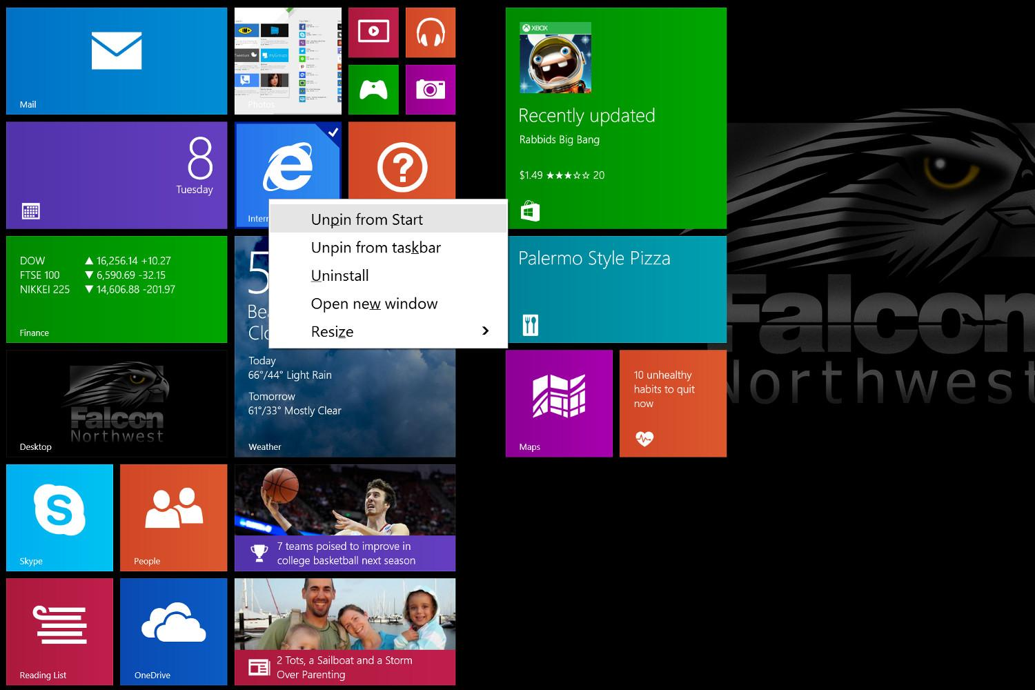win 8.1 up 1