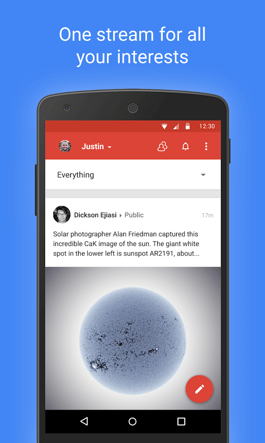 Google+ 5.2