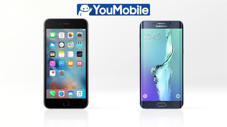 iphone 6s vs galaxy s6