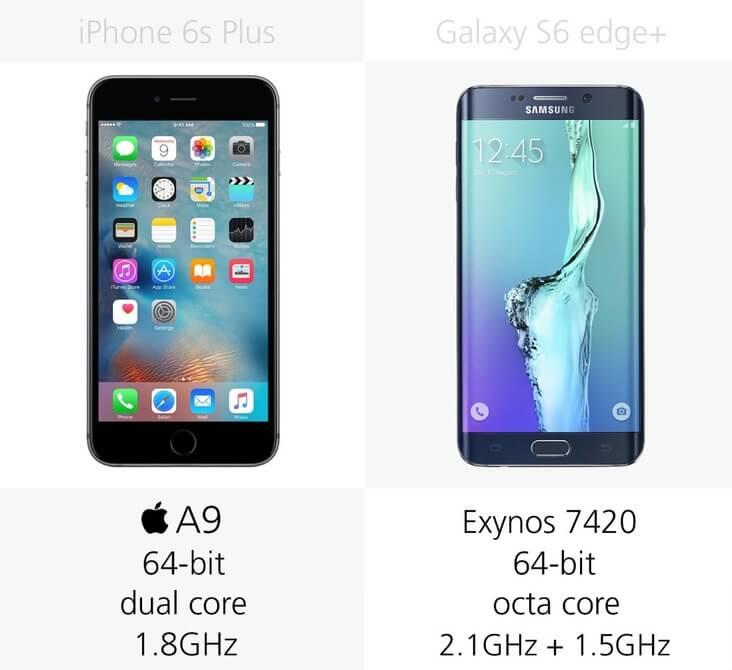 galaxy s6 vs iphone 5