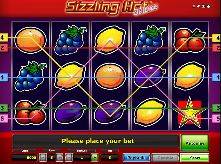 Sizzling Hot Game Iphone
