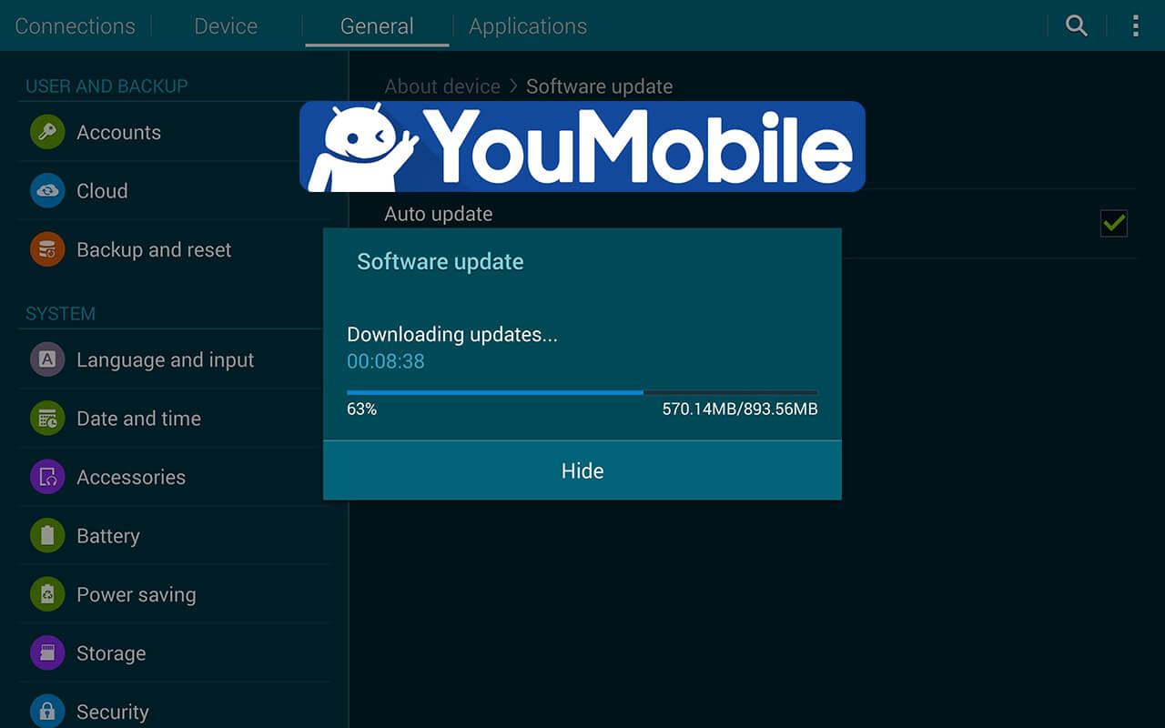Galaxy Tab 4 7.0 Lollipop update