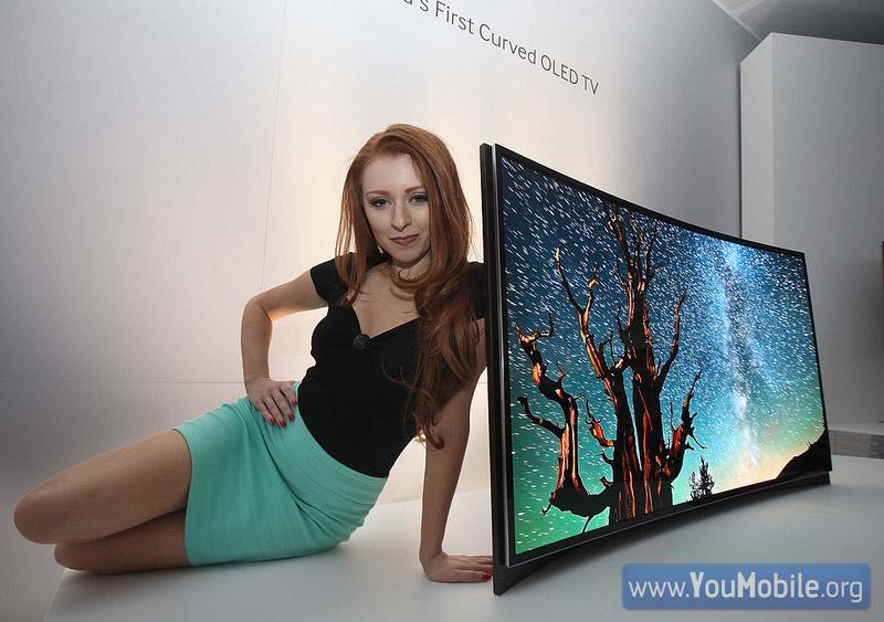 Samsung curved OLED 2013