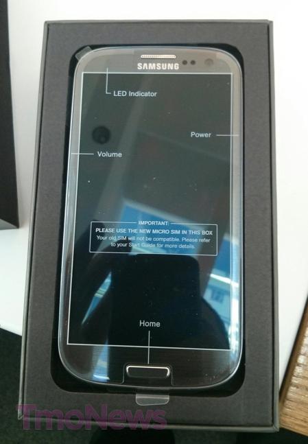 Galaxy S III Titanium Gray